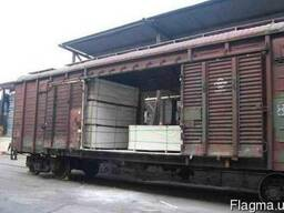 Контейнерні перевезення залізничним транспортом з розвантаже