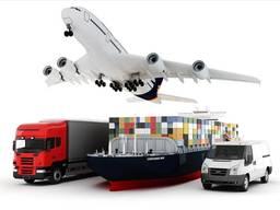 Контейнерные перевозки, автомобили из США