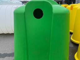 Контейнеры (баки) для сортировки мусора - ТМ «Укрхiмпласт»