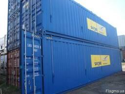 Контейнеры морские для негабаритных грузов Флет, Flat-rack