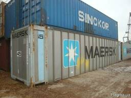 Контейнеры морские для негабаритных грузов Флет, Flat-rack - фото 5