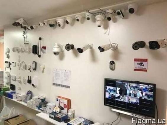 Контроль доступа, домофоны, видеонаблюдение установка Одесса