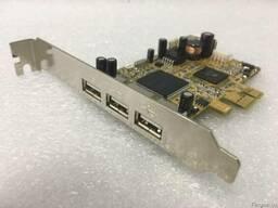 Контроллер | 3 порта Exsys PCIe USB 2. 0 | (EX-11064) |