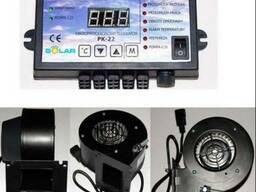 Контроллер для котла с вентилятором, автоматика для котла