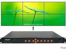 Контроллер видеостен 2x3 HDMI, VGA, AV, USB