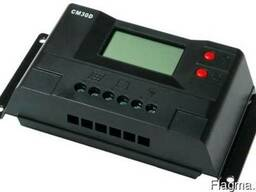 Контроллер заряда CM30D USB (30A 12/24В) с дисплеем