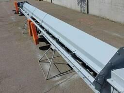Конвейер цепной скребковый для завальной ямы ТСЦм-100