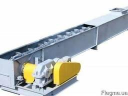 Конвейер скребковый цепной завальной ямы ТСЦм-100