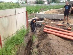 """""""Копальные"""" работы, канализация, колодцы в Чернигове."""