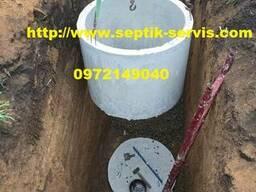 Копка канализации. Выгребная яма под ключ Одесса - фото 7