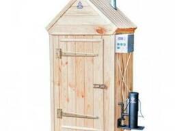 Коптильня холодного и горячего копчения 2в1(деревянный шкаф)