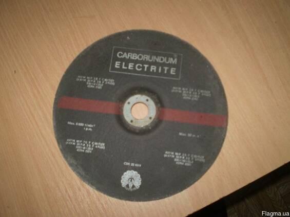 Корбарундовый зачисной круг по металлу 230х8х22,2мм