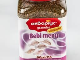 "Корм для аквариумных рыб ""Bebi Menu Granules"" тм Аквариуc"