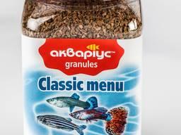 "Корм для аквариумных рыб ""Classic Menu Granules"" тм Аквариус"
