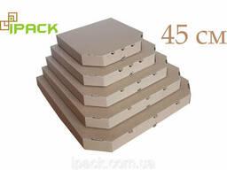 Коробка для пиццы 45 см бурая 450*450*40 мм