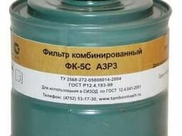 Коробка фильтрующая к противогазу марки А3Р3