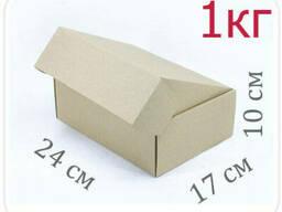 Коробка микрогофрокартон 24х17х10 см (1 кг)