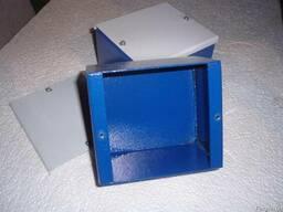 Коробка монтажная стальная 130х120х80мм