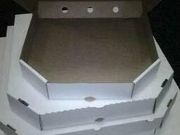 Коробка под пиццу № 30,33,35,45,50 (белая)