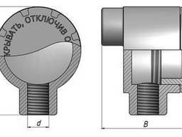 Коробка прямая проходная КПП-20, КПП-25, КПП-40, КПП-50