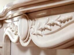 Королевский камин в классическом стиле из мрамора ручной раб