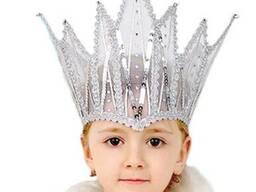 Корона и накидка Снежной Королевы
