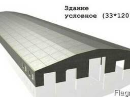 Коровники ж/б конструкции 33*120