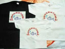 Заказать печать на футболках Днепропетровск
