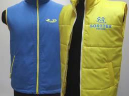 Корпоративна уніформа, жилетки на синтипоні для магазинів