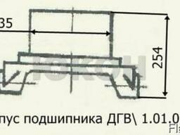Корпус подшипника ДГВ 1. 01. 01. 002