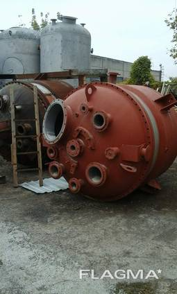 Корпус реактора из нержавеющей стали на 5 м3.