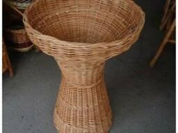 Корзина для багетов плетеная. Багетница