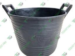 Корзина строительная резиновая 33 л