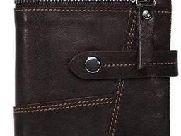 Кошелек унисекс Vintage Черный, Коричневый Vntg14942