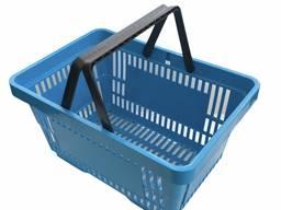Корзинка покупательская 22л , кошики для крамниці, магазину та супермаркету