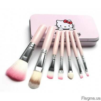 Косметические кисточки Hello Kitty (7 штук)
