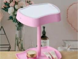 Косметическое зеркало с сенсорным экраном Mirror Lamps Original 2 в 1