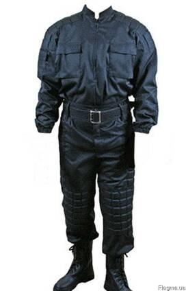 Костюм для охранных структур, черный, грета, куртка. брюки,