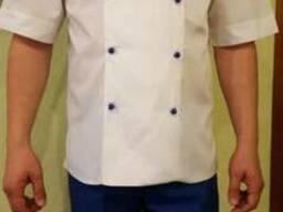 Белый китель и штаны для поваров в наличие