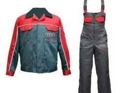 Костюм для работника автосервиса, спецодежда, куртка и п/к
