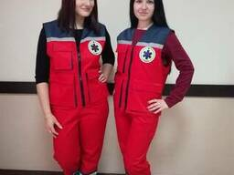 Костюм для скорой помощи, костюм медика