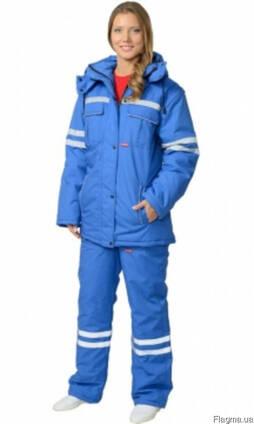Костюм для скорой помощи:куртка и брюки со светоотражайкой