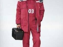 Костюм скорой помощи, зима, утепленная униформа