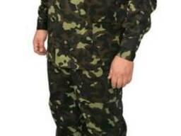 Костюм камуфлированный рисунок Лес куртка и брюки