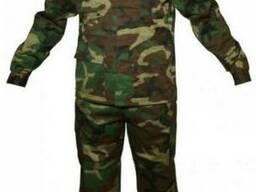 Костюм камуфлированный,военный, мужской,куртка.брюки.ткань р