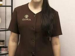 Костюм косметолога, работника салона красоты, спа-центра
