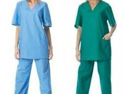 Костюм медицинский с брюками. Медицинска униформа
