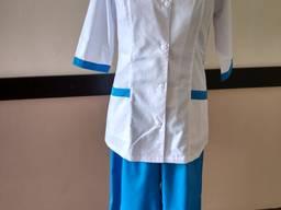 Костюм для медработников, стоматологов, врачей, униформа