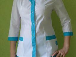 Медицинский костюм женский, куртка брюки, одежа для медиков