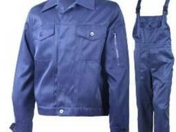 Костюм мужской рабочий (куртка с брюками) спецовка